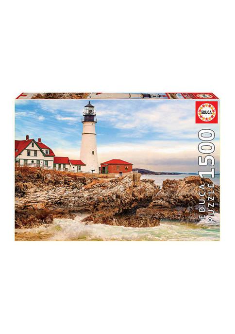 Rocky Lighthouse: 1500 Pieces