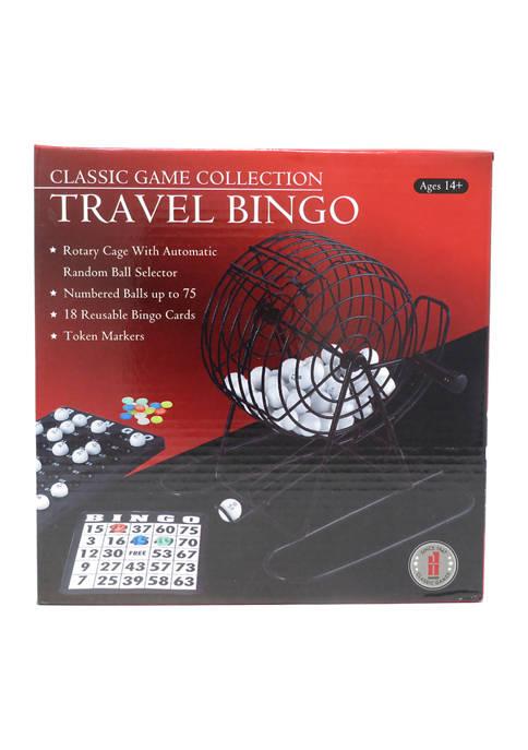 Classic Game Collection - Travel Bingo Set