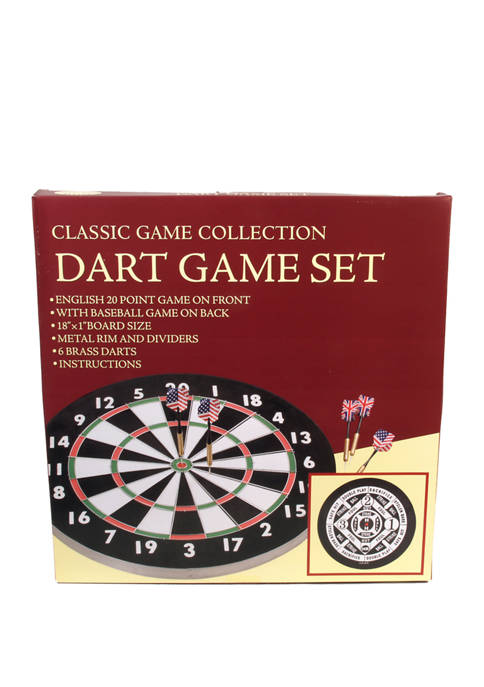 Classic Game Collection Dart Game Set