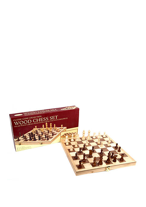 18 inch Deluxe Folding Chess Set