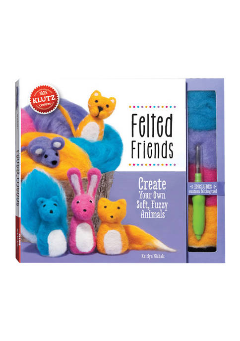 Klutz Felted Friends Craft Kit