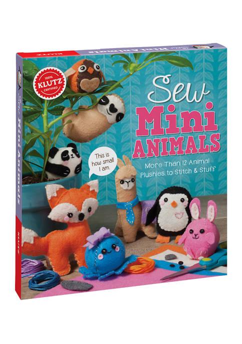 Klutz Sew Mini Animals Craft Kit