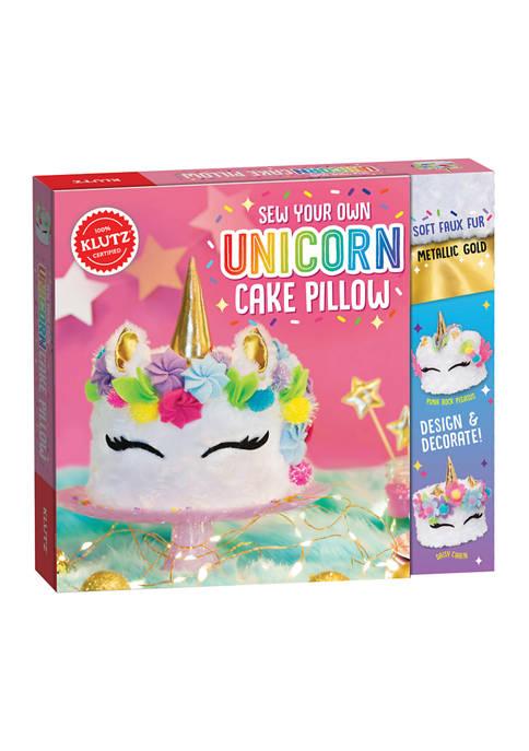 Klutz Sew Your Own Unicorn Cake Pillow Craft