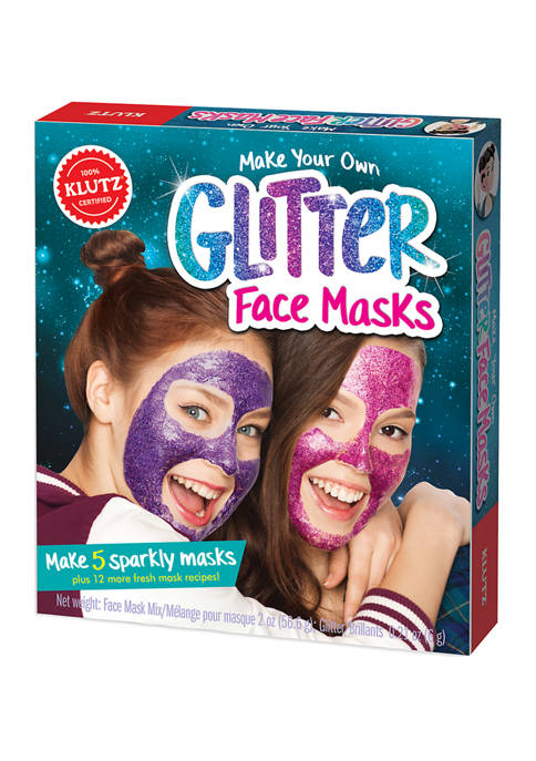Klutz Make Your Own Glitter Face Masks Craft