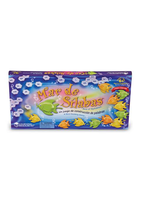 Learning Resources Mar de Silabas (Sea of Syllables)