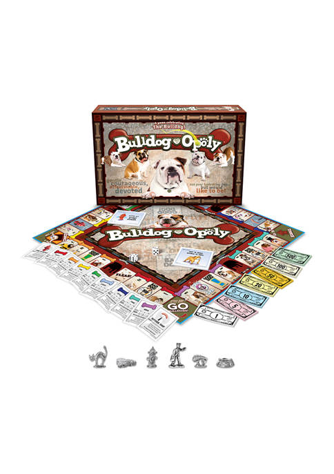 Late For The Sky Bulldog-opoly Family Game