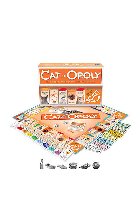 Late For The Sky Cat-opoly Family Game
