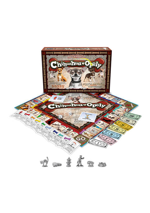 Late For The Sky Chihuahua-opoly Family Game