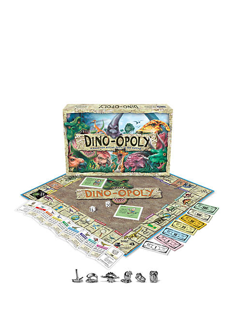 Late For The Sky Dino-opoly Family Game