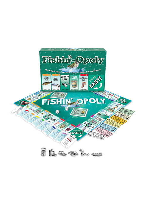Late For The Sky Fishin-opoly Family Game