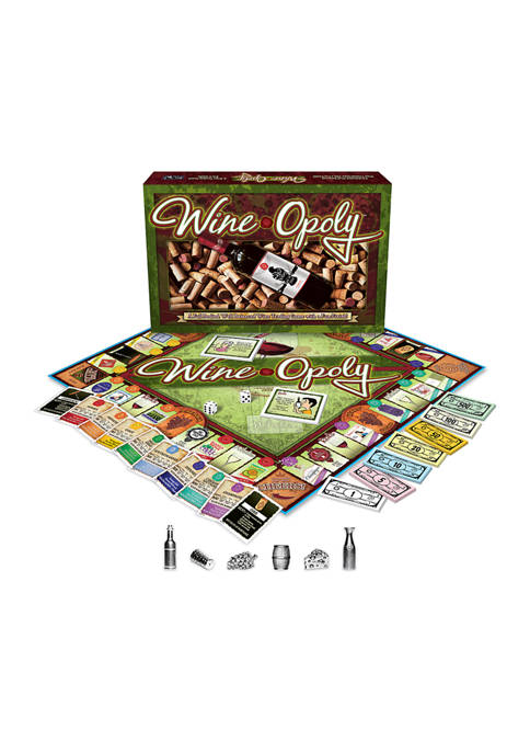 Late For The Sky Wine-opoly Party Games