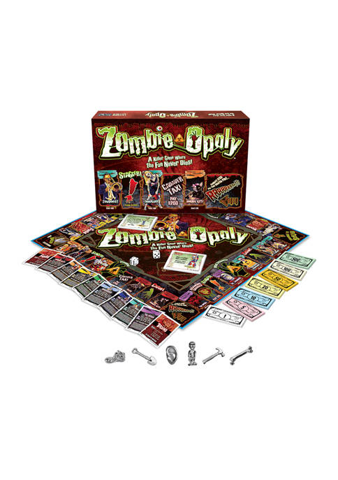 Zombie-opoly Family Game