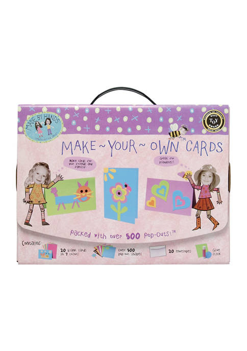 Made By Hands Make Your Own Cards Craft