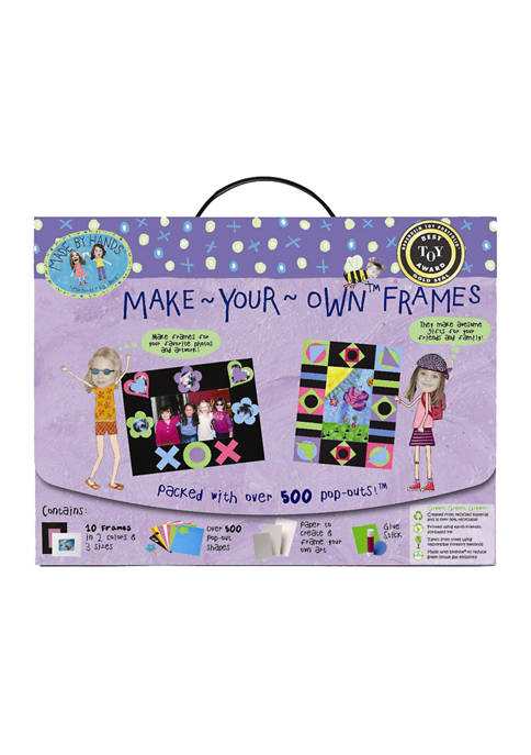 Made By Hands Make-Your-Own Frames Craft Kit