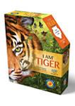 I Am Tiger Shaped Jigsaw Puzzle: 550 Pcs