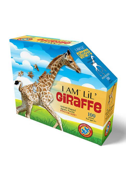 I Am Lil Giraffe Shaped Jigsaw Puzzle: 100 Pieces