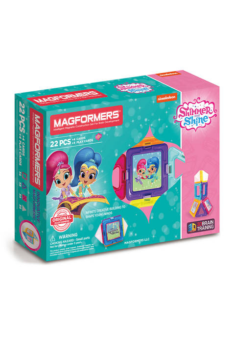 Magformers Shimmer and Shine Set: 22 Pieces