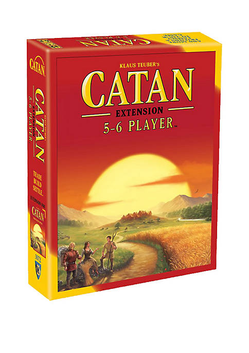 Catan: 5-6 Player Extension Strategy Game