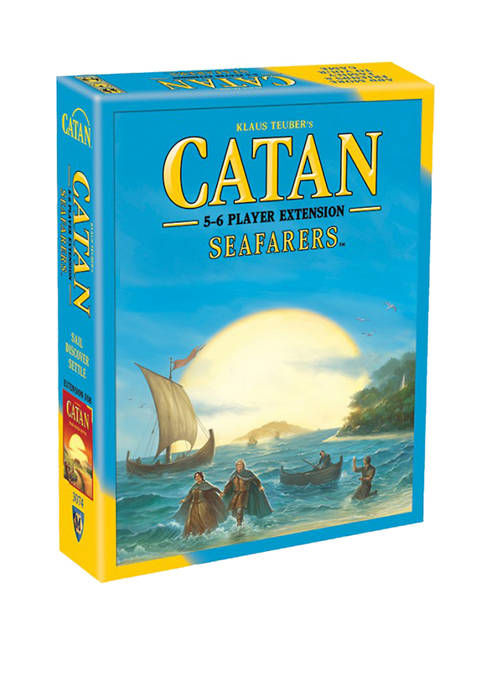 Catan Strategy Game: Seafarers 5-6 Player Extension