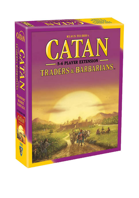 Catan Strategy Game: Traders & Barbarians 5-6 Player Expansion