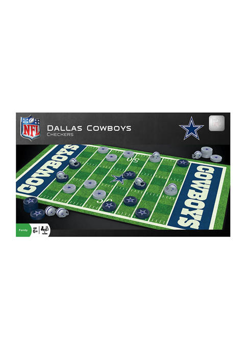 Masterpieces Puzzles NFL Checkers