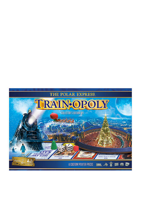 The Polar Express - Train Opoly Collectors Edition Set