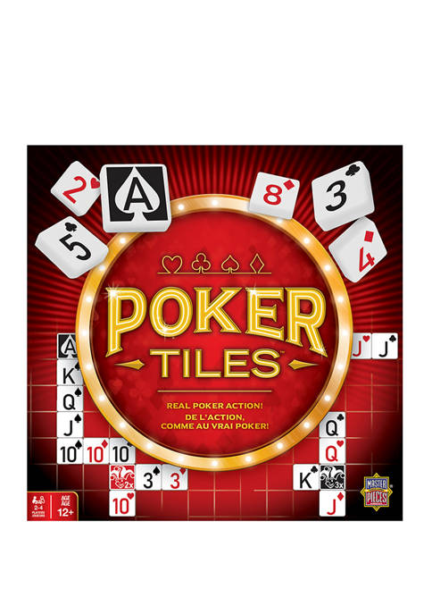 Poker Tiles Board Game