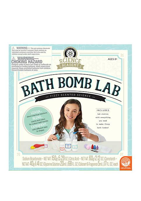 MindWare Science Academy Bath Bomb Lab Science Kit