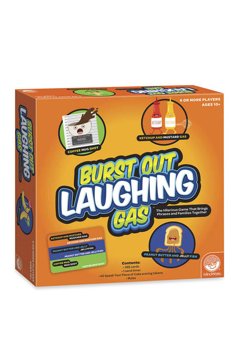 MindWare Burst Out Laughing Gas Adult Party Game