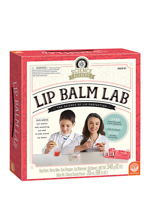 MindWare Science Academy Lip Balm Lab Science Kit