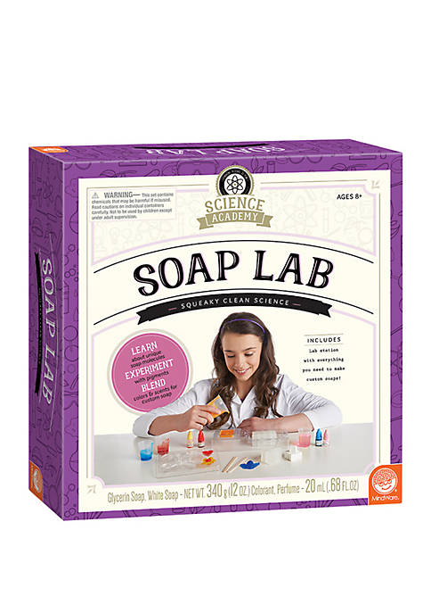 Science Academy Soap Lab Science Kit