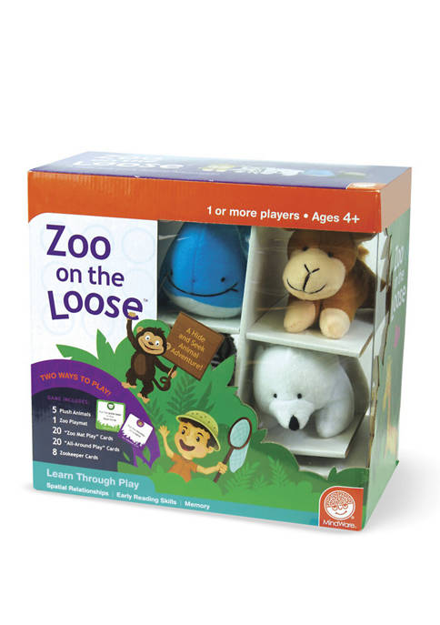 MindWare Zoo On the Loose Kids Game