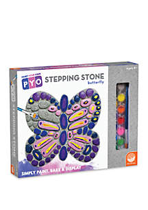 MindWare Paint Your Own Butterfly Stepping Stone Painting Kit