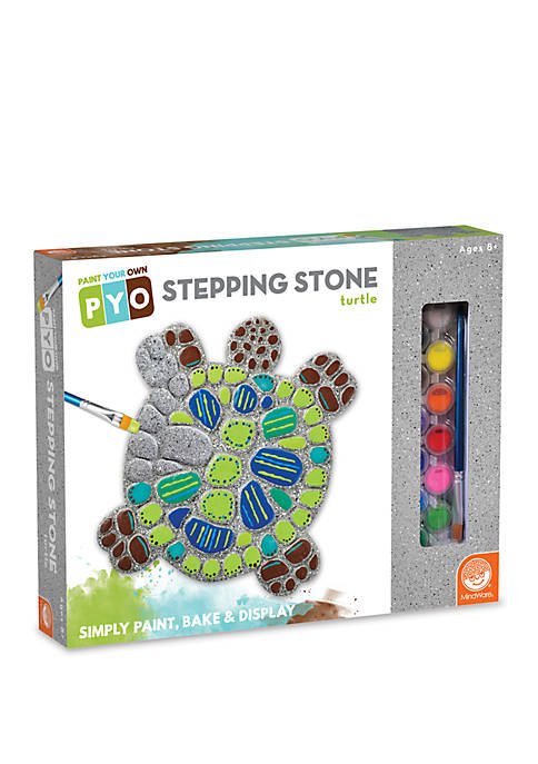 MindWare Paint Your Own Turtle Stepping Stone Painting