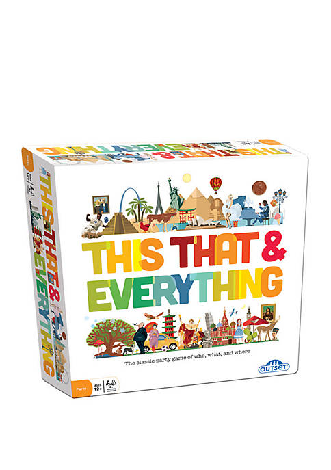Outset Media This That and Everything Family Game