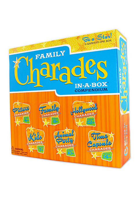 Family Charades in a Box Game Compendium
