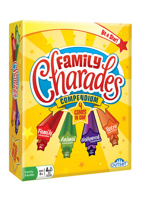 Family Charades Compendium Family Game