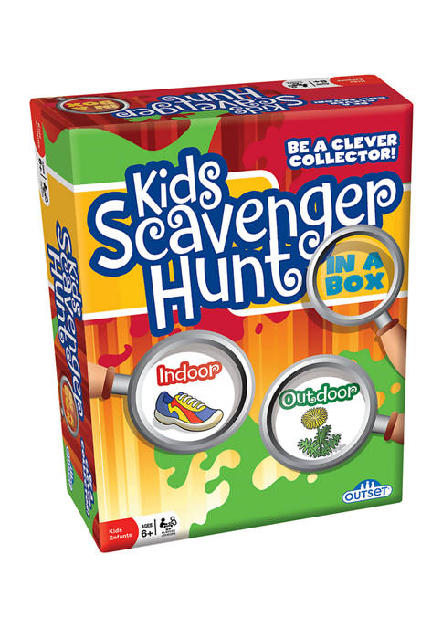 Outset Media Kids Scavenger Hunt in a Box