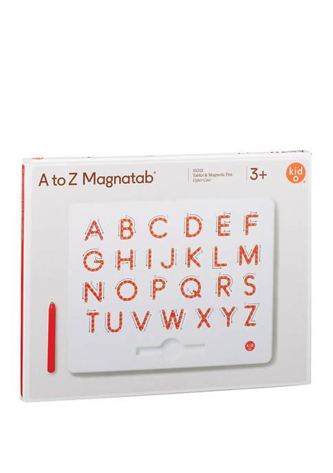 Kid O A to Z Upper Case Magnatab