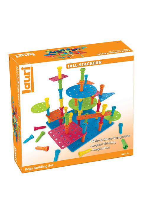 PlayMonster Tall-Stackers Pegs Building Set