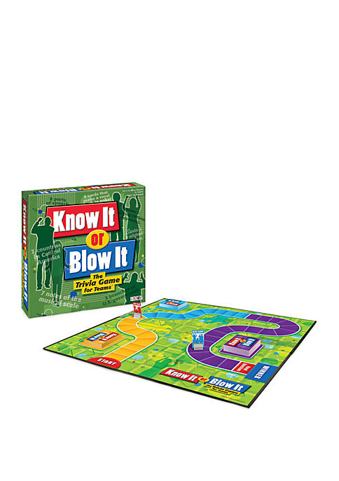 Know It or Blow It Family Game