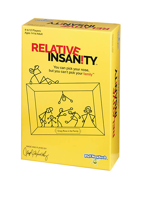PlayMonster Relative Insanity Adult Party Game