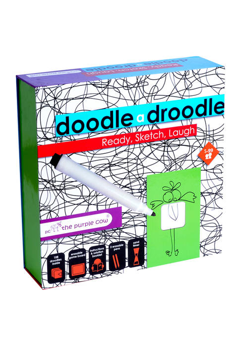 The Purple Cow Doodle a Droodle Family Game
