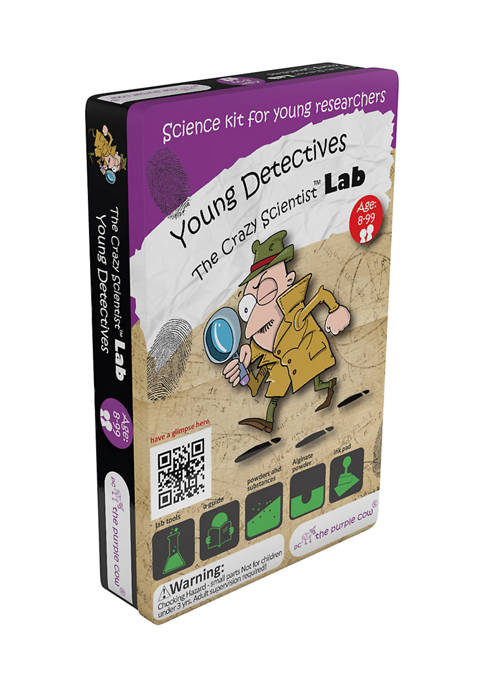The Crazy Scientist Lab - Young Detectives