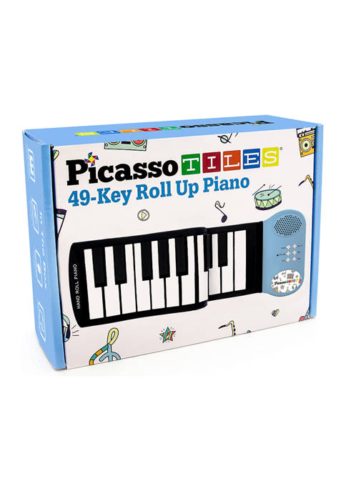 Briarpatch PicassoTiles 49-Key Roll Up Piano