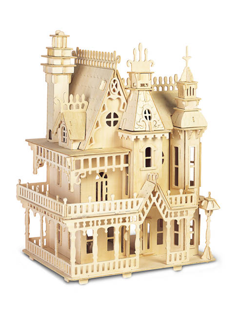 Puzzled Fantasy Villa Wood 3D Puzzle