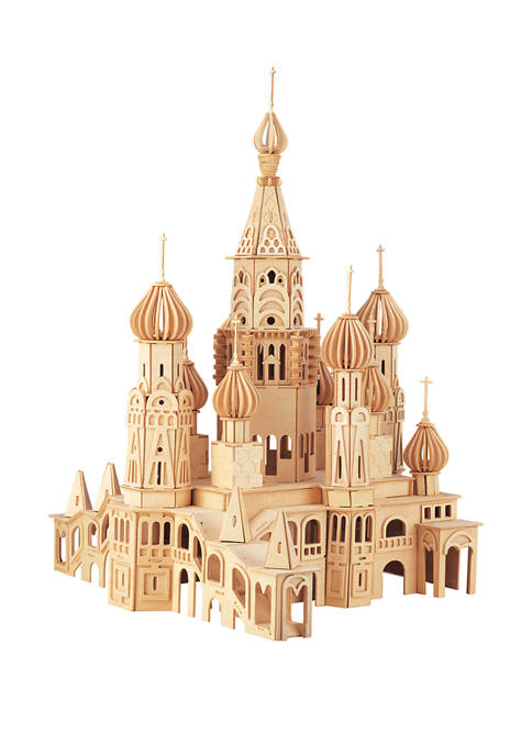 Puzzled St. Petersburg Church Wooden 3D Puzzle
