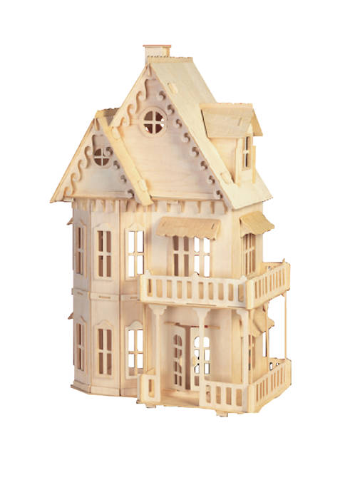 Puzzled Gothic House Wood 3D Puzzle