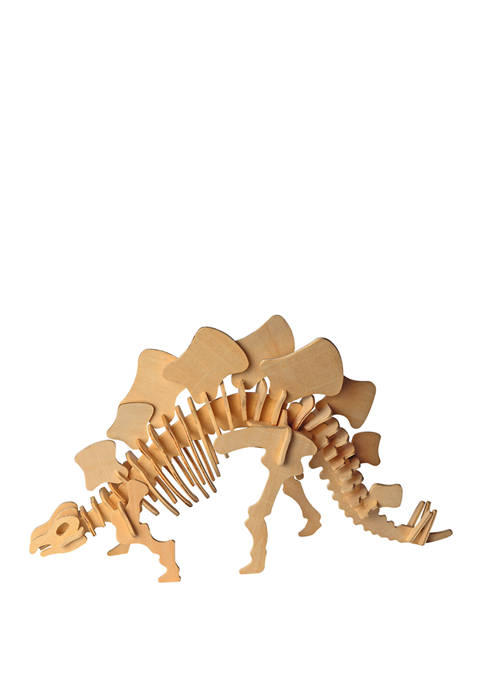 Puzzled Big Stegosaurus Wooden 3D Puzzle