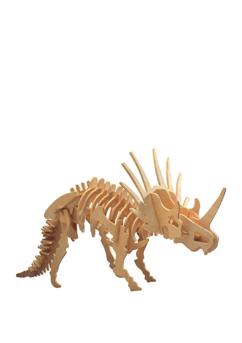 Puzzled Big Styracosaurus Wooden 3D Puzzle